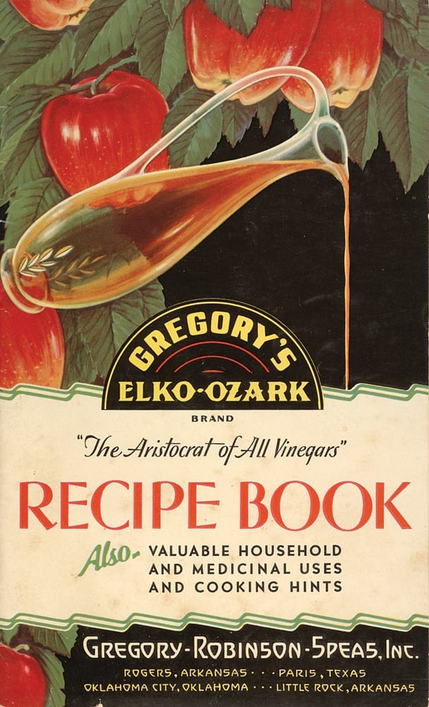 Gregory-Robinson-Speas Recipe Book, circa 1930.