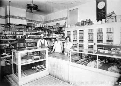 Springdale Bakery, Springdale, Arkansas, circa 1927.
