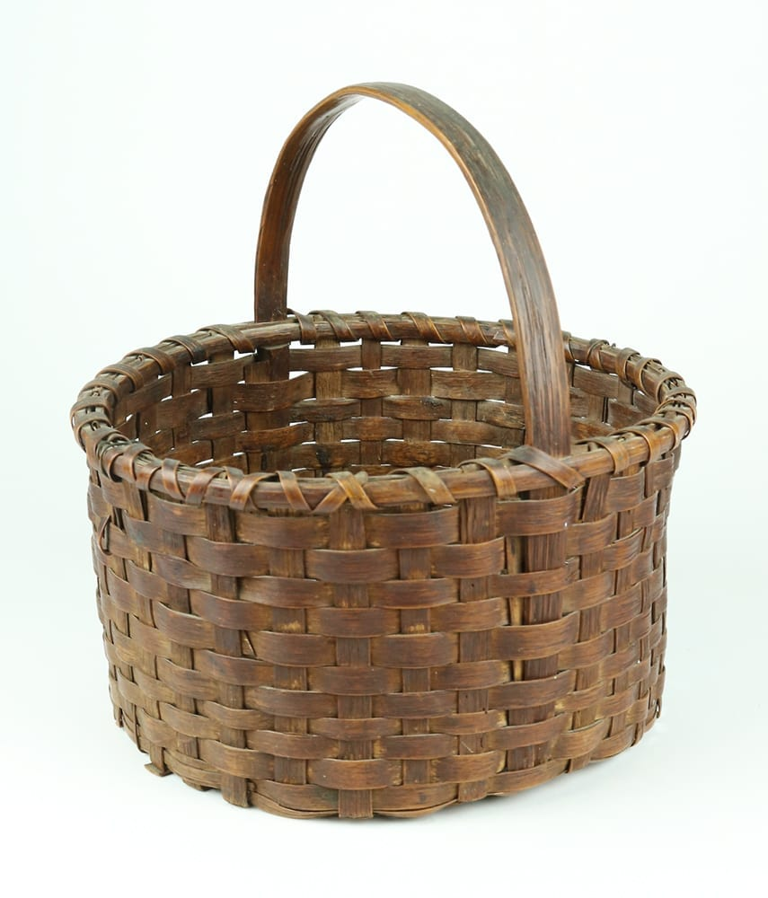 Elnora Fritts's egg basket