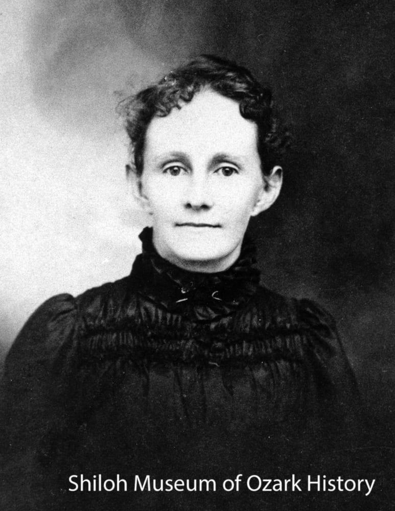 Emma Dupree Deaver, 1890s.