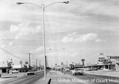 Highway 71, Springdale, AR, 1965
