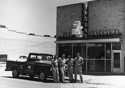 Tyson's Feed & Hatchery, Springdale, AR, 1957