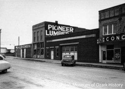Pioneer Lumber Co. building, Springdale, AR, 1940s