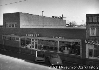 Pioneer Lumber Company, Springdale, AR, 1950.