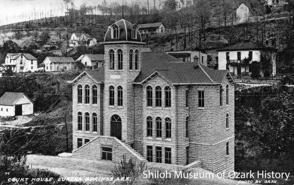 Carroll County Courthouse—Western Judicial District, Eureka Springs, Arkansas, circa 1910.