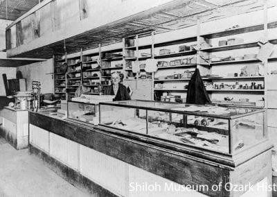 Kirkpatrick Hardware Store, Alpena (Carroll County), Arkansas, circa 1915.