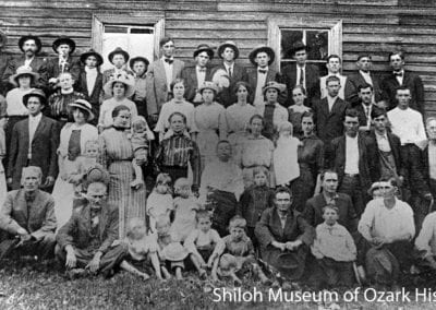 Church group, Connor (Carroll County), Arkansas, 1915.