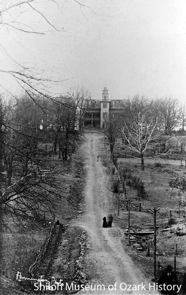 Clarke's Academy, Berryville, Arkansas, 1913.