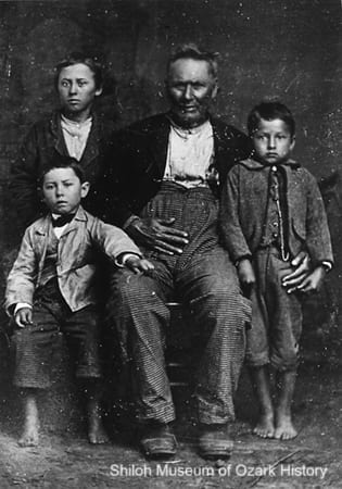 George Washington Vaughan and grandsons