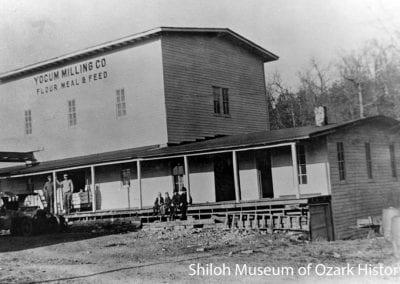 Yocum Milling Company, Yocum (Carroll County), Arkansas, 1900s–1910s.