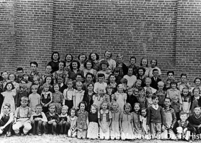 Blue Eye School, Blue Eye (Carroll County), Arkansas, circa 1939.