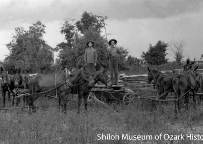 Threshing scene, Grandview (Carroll County), Arkansas, 1900s–1910s.