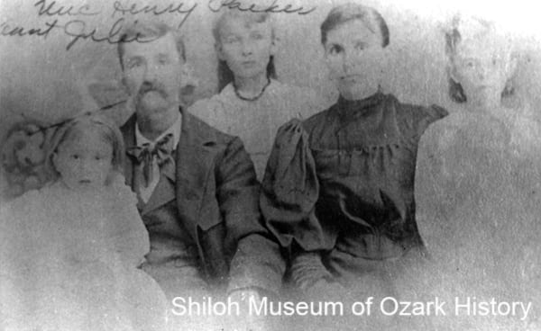 Henry Parker and Julia Fitch Parker Family. circa 1890s.