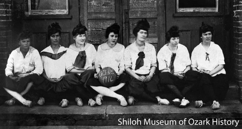 Basketball team, Green Forest, Arkansas, 1916