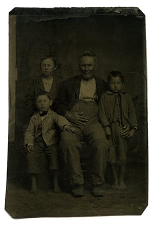George Washington Vaughan and grandsons