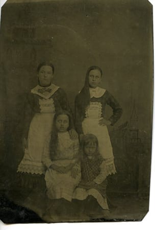 Granddaughters of George Washington Vaughan