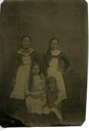 Granddaughters of George Washington Vaughan