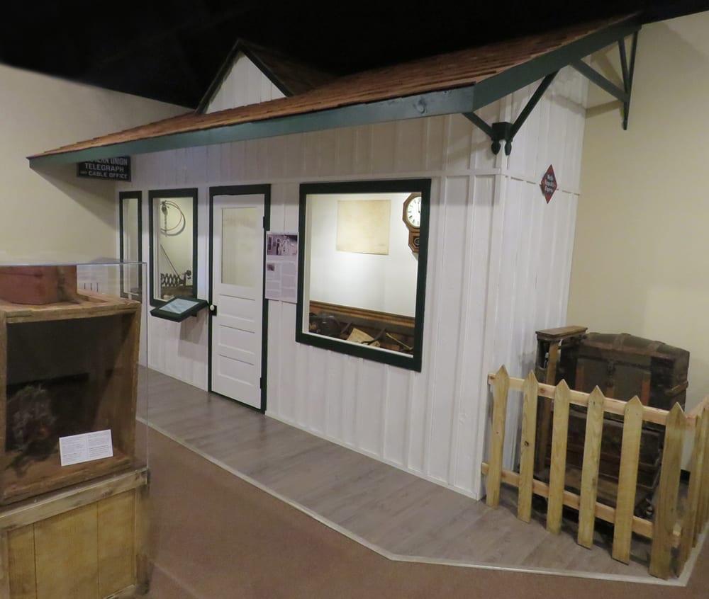 Train station, Shiloh Museum of Ozark History