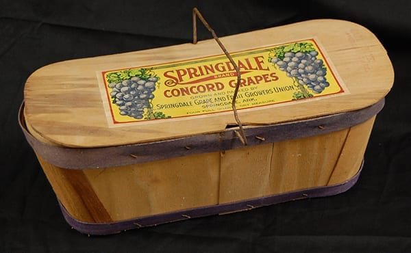 Grape basket, 1920s.