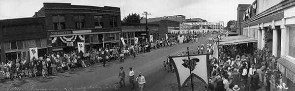 Ozark Grape Festival, Emma Avenue (Springdale), August 1926.