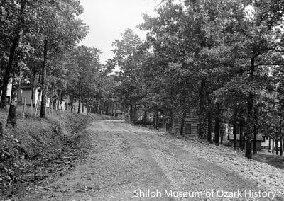 Mt. Sequoyah, Fayetteville, about 1923.