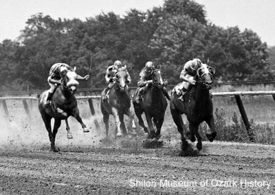 Quarter-horse race at Ozark Downs, near Sonora, June 24, 1968.