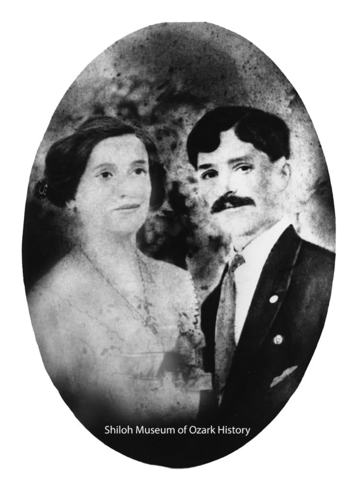 "Maria ""Mary"" Cortiana Fiori and Pietro ""Pete"" Fiori, 1912."