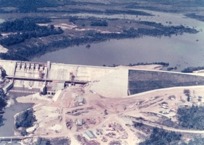 Building Beaver Lake
