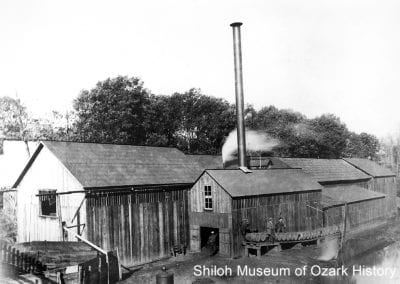Macon and Carson Distillery, Bentonville, 1900s-1910s.