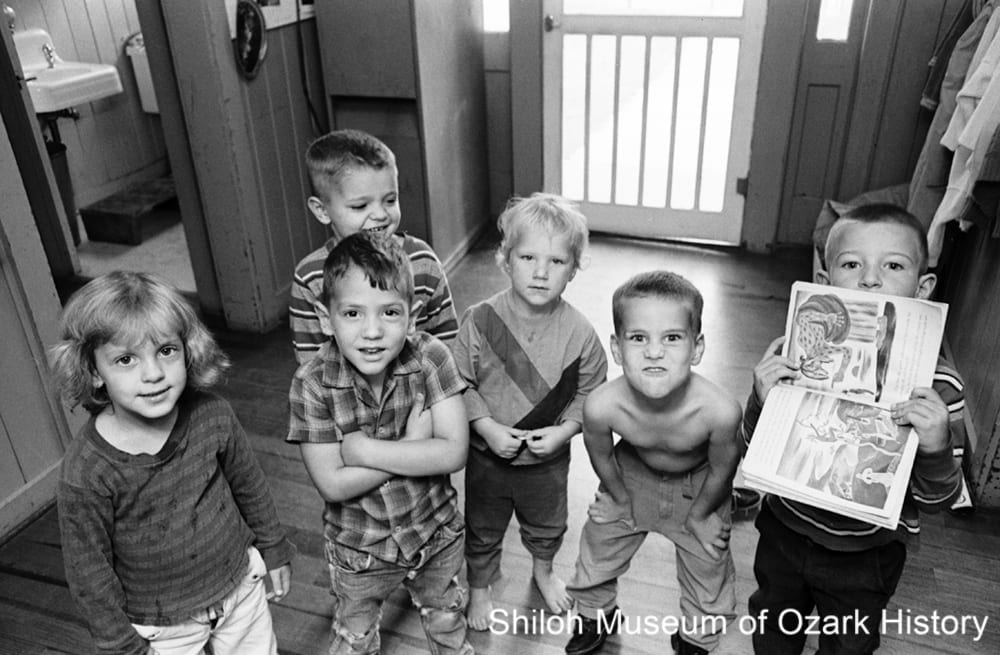 Children at the day care center, September 19, 1967.