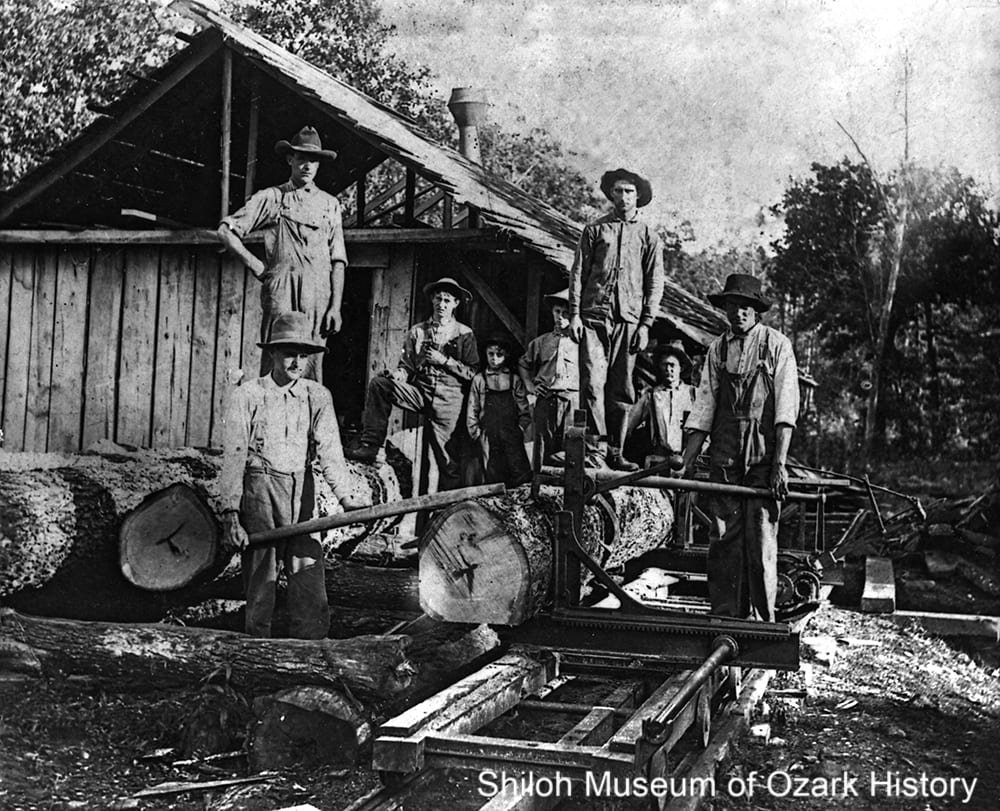 Sawmill, Goshen (Washington County, Arkansas), 1900s–1910s.