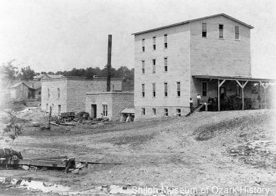 Berryville Milling Company (later North Arkansas Milling Company), Berryville (Carroll County), 1900s-1910s. In 1910 the mill could grind up to 100 barrels of grain daily and store 40,000 bushels of wheat and 500,000 pounds of flour.