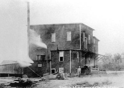 "Kingston Roller Mill (""Old Red Mill""), Kingston (Madison County), circa 1905."
