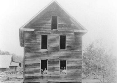 Hawkins Mill, Harrison (Boone County), 1900s-1910s. James Hawkins Sr. built this mill in the 1840s, just a few years after he built a mill in Madison County.