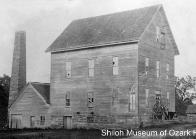 Rhea's Mill (later Valley Steam Mill), Rhea (Washington County), 1900s.