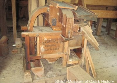 14. Wheat scourer, Villines Mill, Boxley (Newton County), 2010.
