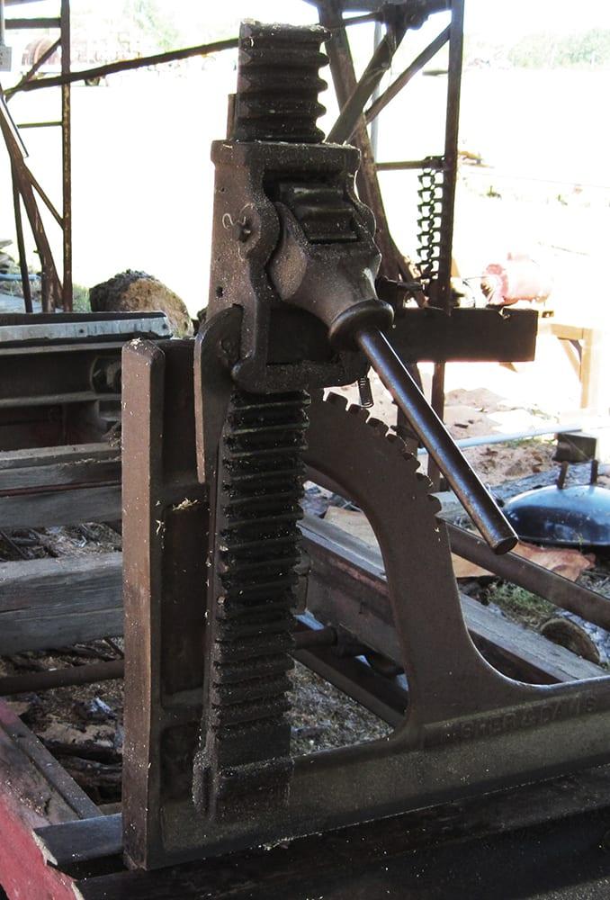 Sawmill headblocks