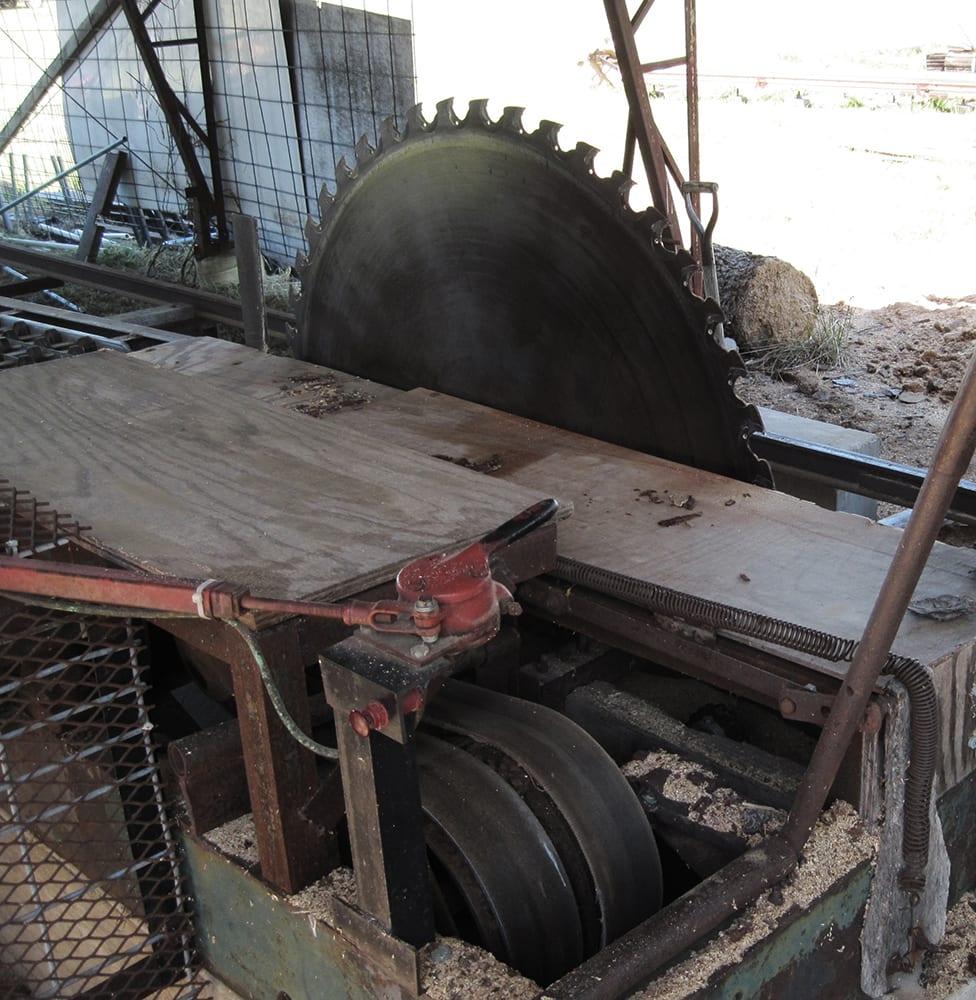 Sawmill blad