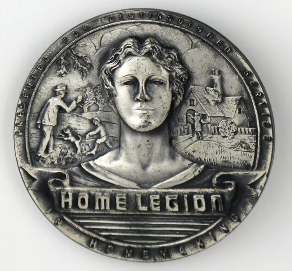 Home Legion Medal of Distinguished Service in Homemaking