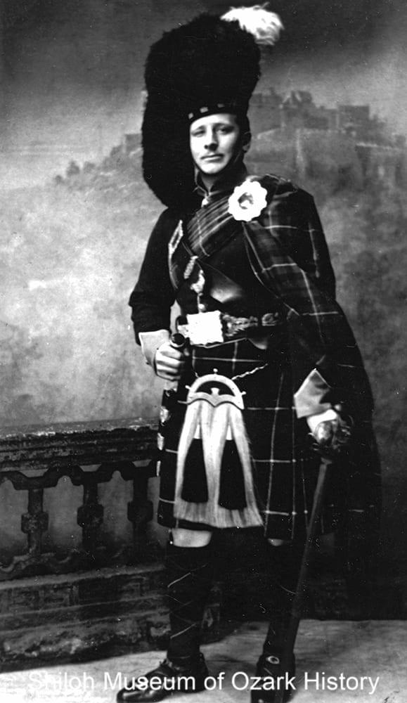 Charles Blanchard, Edinburgh, Scotland, April 1934.