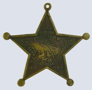 1907 powwow souvenir