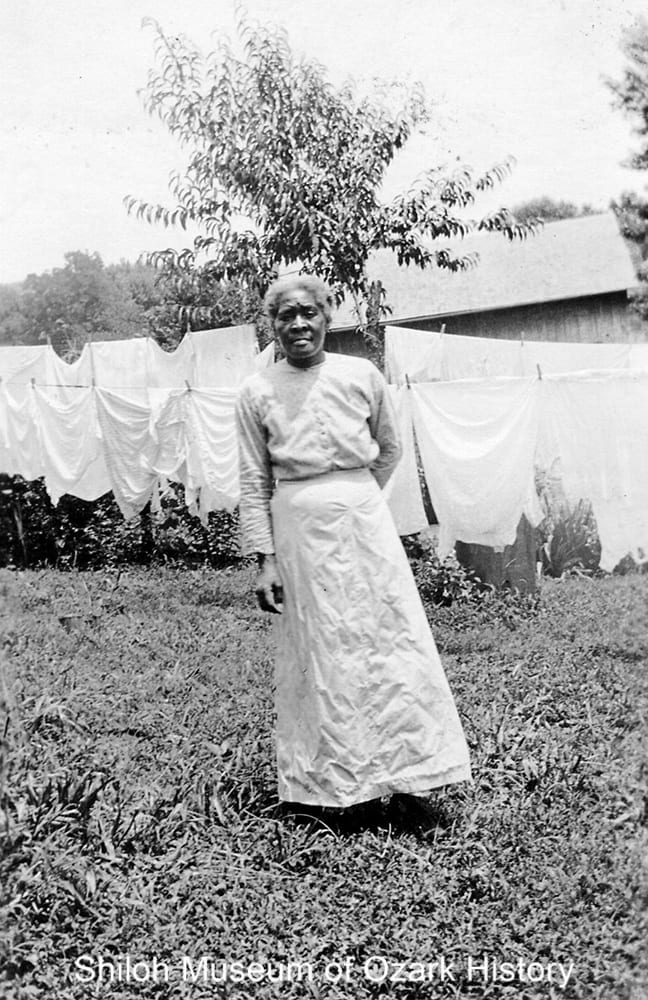 Sarah Morton, Fayetteville, Arkansas, circa 1910