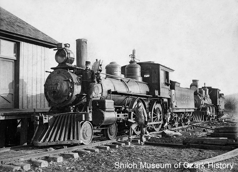 Frisco engine 2275, Washington County, Arkansas, circa 1903