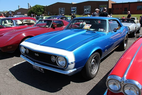 A 1967 Camaro similar to one driven by Chuck Mayes of Fayetteville, winner of the first drag races sponsored by the Northwest Arkansas Auto Association in 1975. The races were held on Ford Avenue in Springdale. Photo courtesy Sicnag/flickr.com