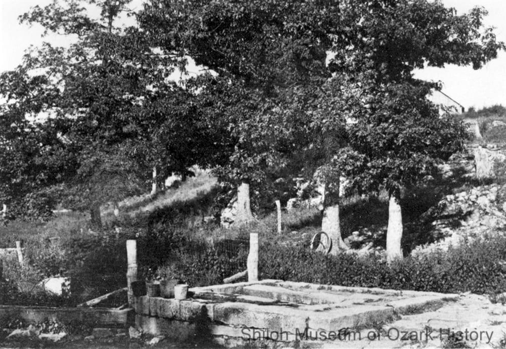 Bellefonte Spring, Boone County, Arkansas, circa 1912