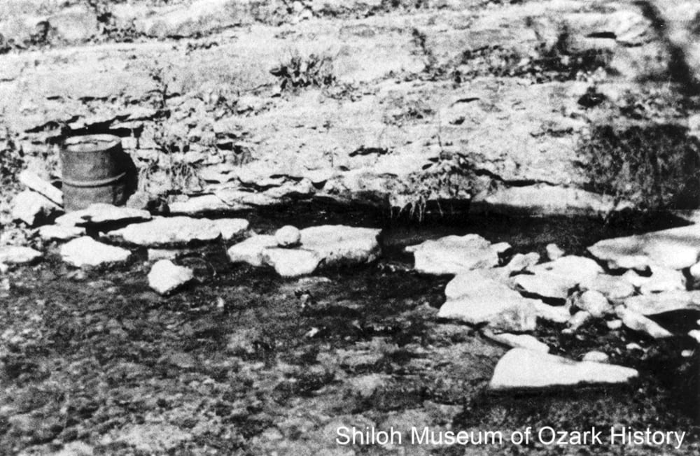 Milum Spring, Boone County, Arkansas, early 1900s