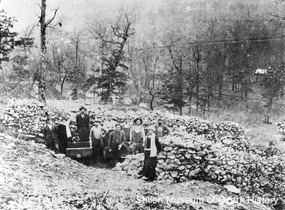 Gloria Mines, Zinc, Boone County, Arkansas, circa 1916.