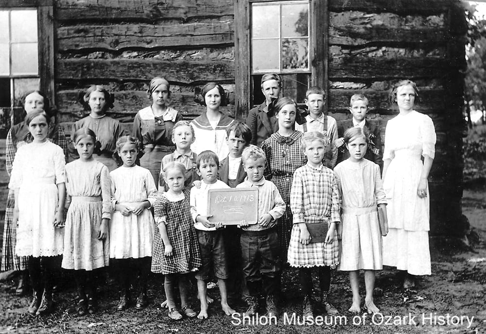 Shady Grove School, Boone County, Arkansas, October 10, 1913.