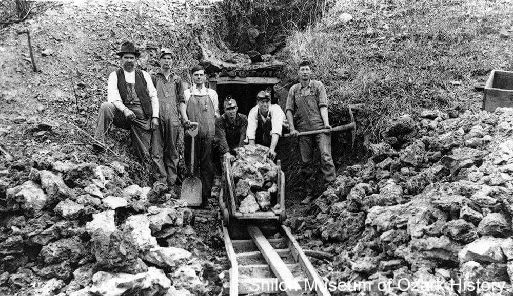 Kilgore Mine, Ponca, Newton County, Arkansas, 1916