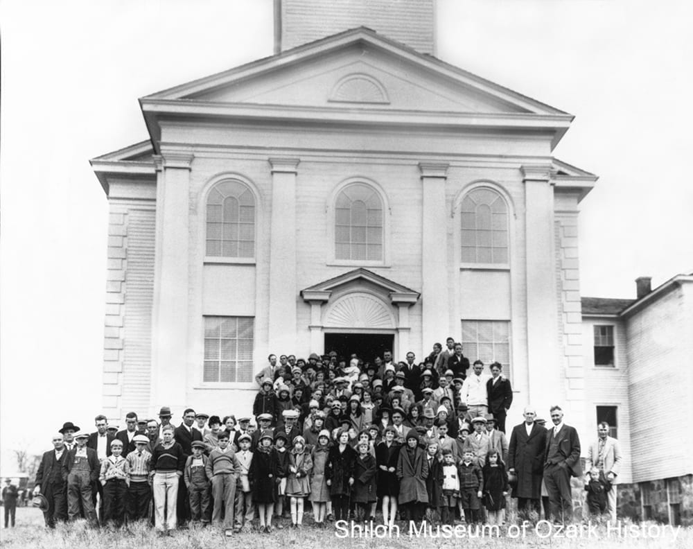 Kingston Community Presbyterian Church, Kingston, Arkansas,mid-1920s.